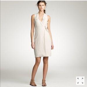 J. Crew Women's Tailored Linen Patrice Dress